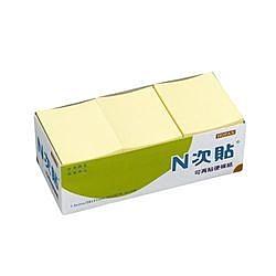 《享亮商城》61106(21005) 黃色 1.5*2盒裝便條紙