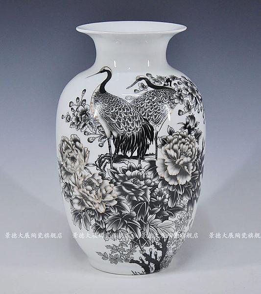 陶瓷器花瓶擺件