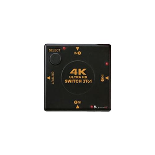 UPTECH HDMI 4K2K影音手動切換器 (3入1出)