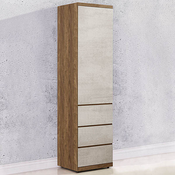 YoStyle 格林1.5尺三抽衣櫃 衣櫥  置物櫃 收納櫃 免運專人配送