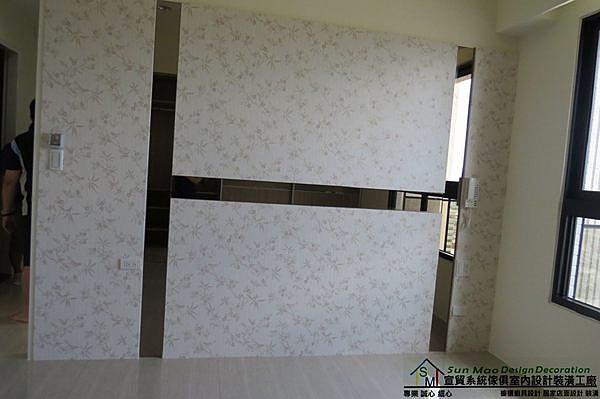 系統家具/台中系統家具/台中室內裝潢/系統傢俱/系統家具設計/室內設計/造型床頭背牆-sm0548