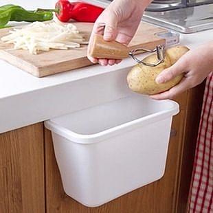 TwinS炫彩桌邊抽屜廚房掛式小收納盒/手機架/置物盒/垃圾桶【顏色隨機發貨】推薦好用商品