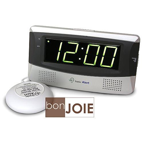 ::bonJOIE:: 美國進口 Sonic Alert SB300SS 震動鬧鐘 (含振動器) Bomb Boom 音波炸彈 鬧鈴 靜音 提醒器