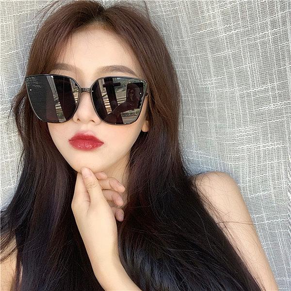 墨鏡女新款潮時尚街拍大框ins圓臉顯瘦韓版復古網紅太陽眼鏡