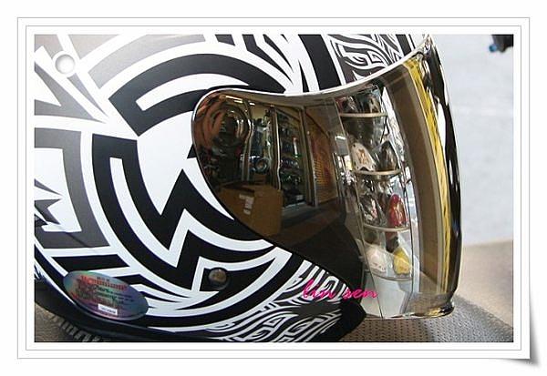M2R安全帽,FR1專用電鍍鏡片