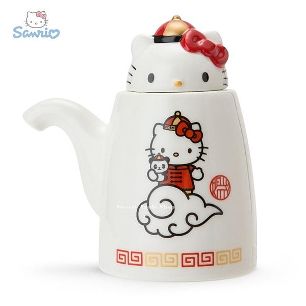 日本限定 凱蒂貓 HELLO KITTY  飯店風 醬油罐/調味罐