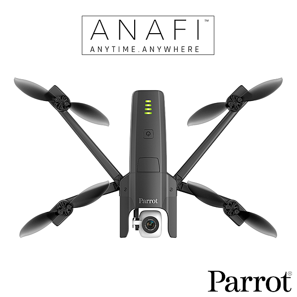 【贈原廠電池】Parrot ANAFI 4K HDR 空拍機 無人機 公司貨