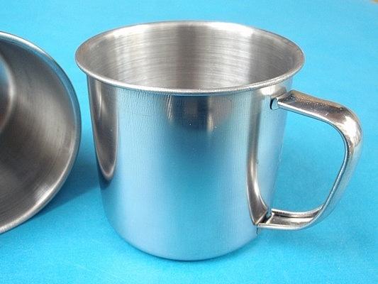 小鋼杯 不銹鋼口杯(不加蓋) 直徑約7cm/一大袋120個入{定20}AL45377 厚口杯-智6944464400010