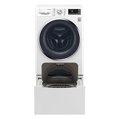 LG TWINWASH 雙能洗10.5公斤+2公斤 蒸洗脫洗衣機 WD-S105CW、WT-D200HW