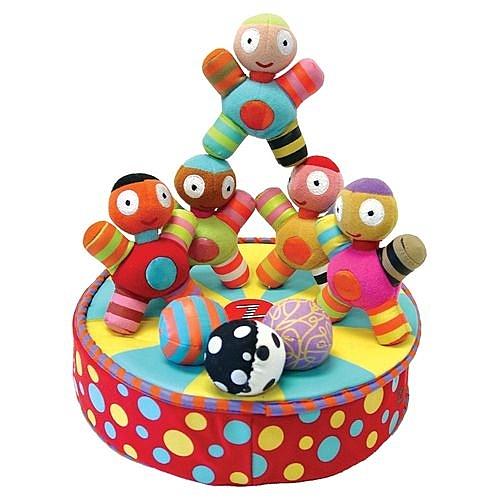 加拿大 KUSHIES ZOLO 體操先生嬰兒益智玩具組[衛立兒生活館]