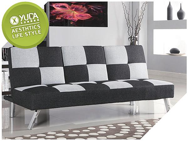 沙發床【YUDA 】米克諾 三段式 可置物 多功能沙發床 床尾沙發 (J8F 203-1)  新竹以北免運費