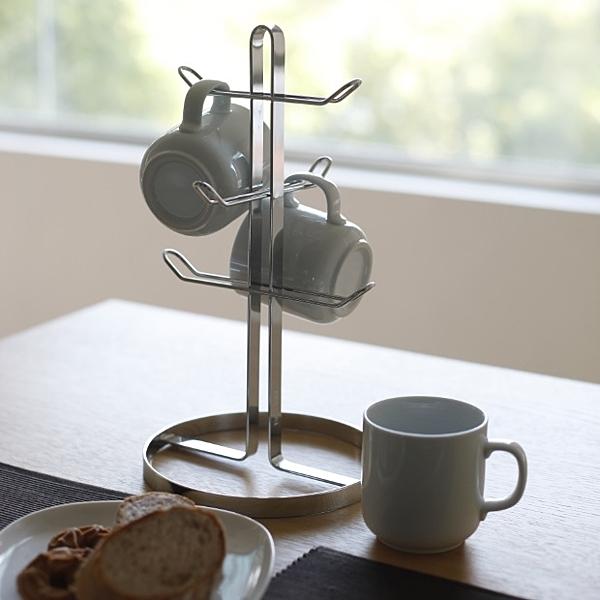 DAY&DAY 馬克杯架  瀝水 餐廚 不鏽鋼 收納 廚房收納