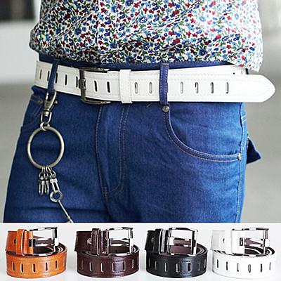 皮帶‧柒零年代 Summer【N7994J】日韓型男穿搭單品質感皮革造型皮帶/腰帶(EZ3017)