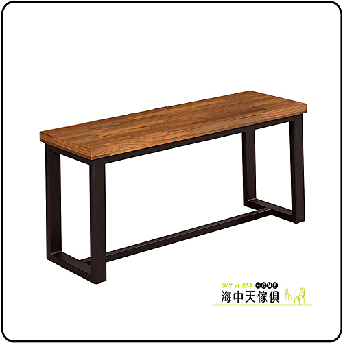 {{ 海中天休閒傢俱廣場 }} G-33 摩登時尚 餐椅系列 914-7 艾陶長板凳-積層材木面