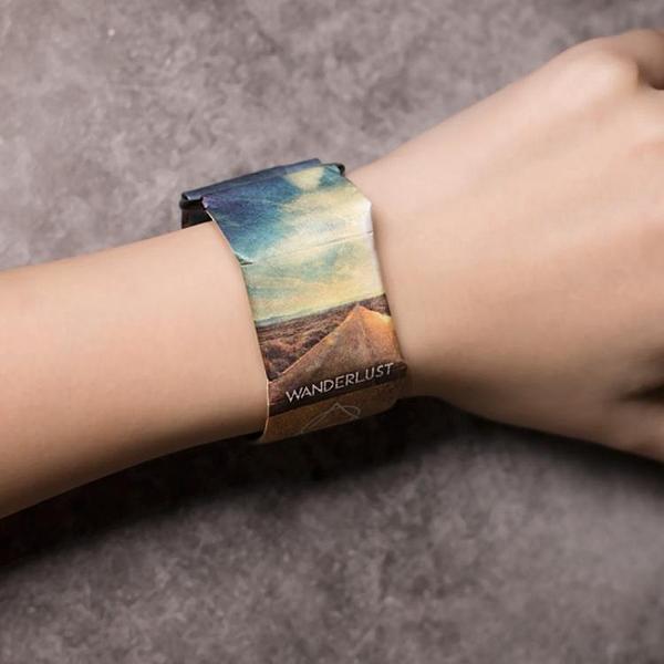 紙手錶男德國paprwatch新型智慧女黑科技paper電子錶紙質抖音手環 科技藝術館