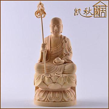 黃楊木雕佛像家居擺件