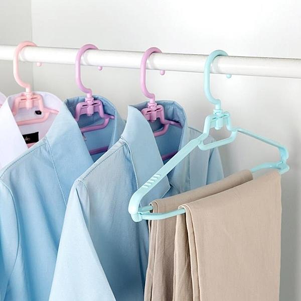 [超豐國際]塑料防滑衣架家用無痕晾衣架 衣服架掛衣架衣架子衣撐褲