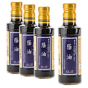 (組)在地純釀造-黑豆蔭油300ml 4入組