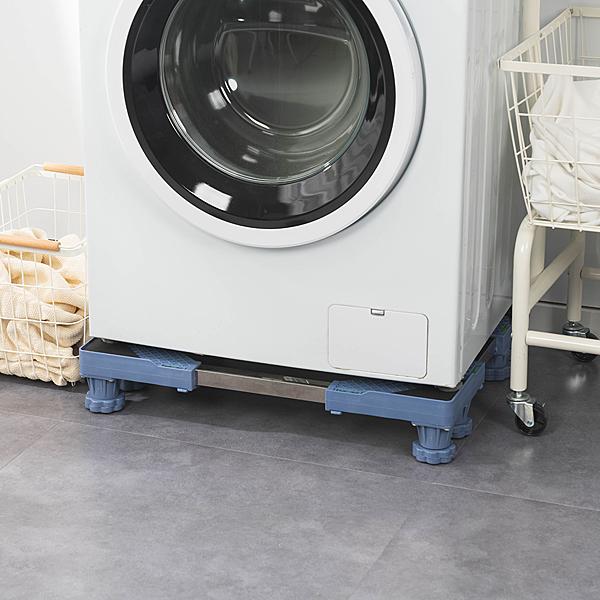可伸縮調節洗衣機台座托架-八腳柱款【A054】樂嫚妮