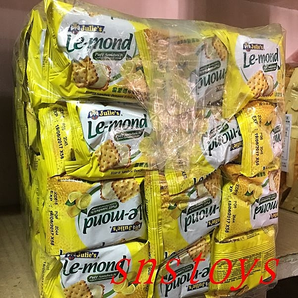 sns 古早味 懷舊零食 餅乾 夾心餅 雷蒙德檸檬味夾心餅 檸檬夾心餅 3公斤 約170個