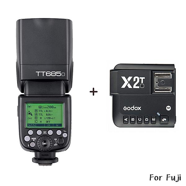 ◎相機專家◎ Godox 神牛 TT685F + X2 發射器 TTL機頂閃光燈 Fuji 高速同步 TT685 開年公司貨