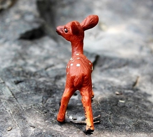 【協貿國際】野生動物恐龍模型玩具小鹿
