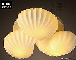 INPHIC- 日式貝殼方塊雲朵吸頂燈現代簡約兒童房客廳北歐創意臥室燈-E款_S197C