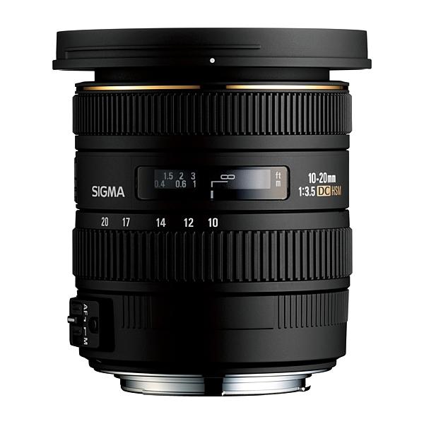 SIGMA 10-20mm F3.5 EX DC HSM APS-C專用超廣角鏡頭 【恆伸公司貨 三年保固】