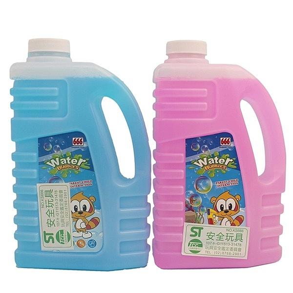大 泡泡水補充液 750ml 泡泡槍補充液(扁罐)/一袋5罐入(定100) ST安全玩具-創10517-CF111833