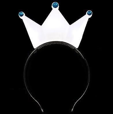 皇冠發光發箍 頭箍閃光發箍追星演唱會 表演專用