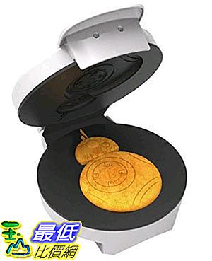 [美國直購] Pangea Brands WM-SRW-RD-BB8 星際大戰 鬆餅機 Star Wars BB8 Waffle Maker
