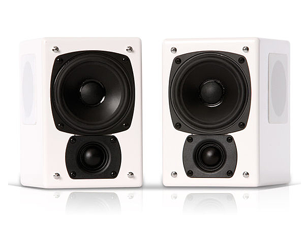 ◆丹麥 M&K SOUND  M系列 M-4T Tripole 三面發聲環繞聲道喇叭 / 組 黑/ 白雙色