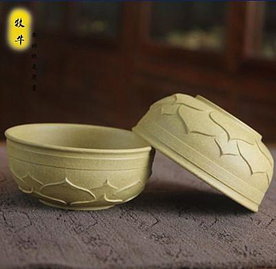 蓮花杯100ml 宜興原礦段泥 浮雕  (單個價)