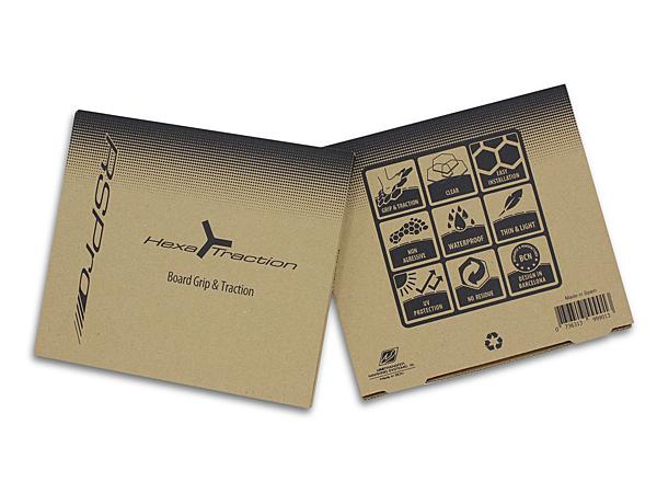 RSPRO PRICE 6角防滑板貼 HexaTraction Board Grip-(透明)