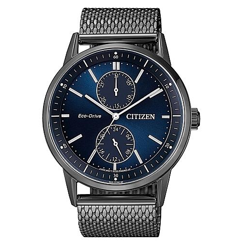 CITIZEN 個性時尚光動能腕錶/米蘭帶BU3027-83L