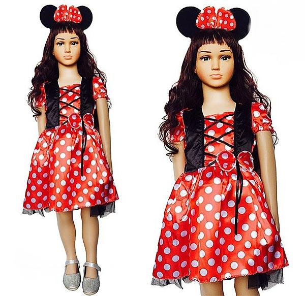 兒童米妮公主服洋裝禮服 迪士尼米奇聖誕舞會派對服灰姑娘公主禮服冰雪奇緣公主裝