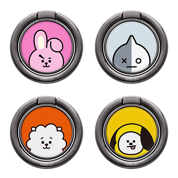 King*Shop---GARMMA韓國BT21卡通手機指環扣 蘋果安卓 通用可愛手機iPhone支架