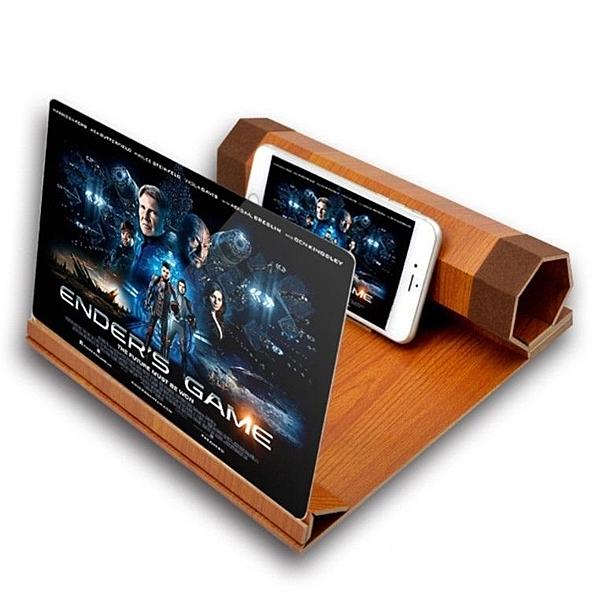 12寸手機屏幕放大器SG505 螢幕放大器 迷你劇院 手機 放大鏡 老花鏡 手機座 移動劇院手機放大器