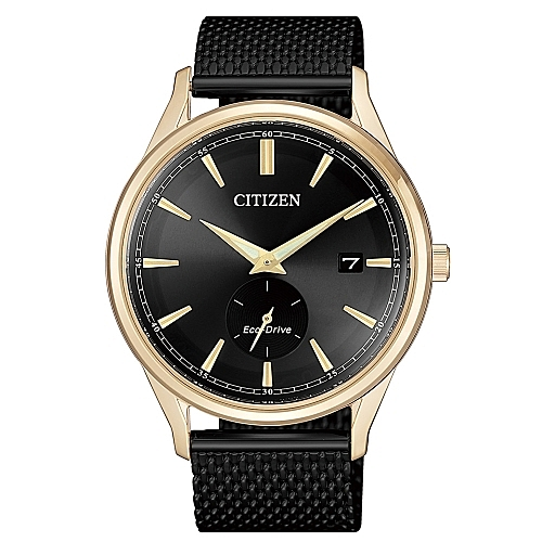 CITIZEN 沉著質感光動能時尚腕錶BV1116-80E