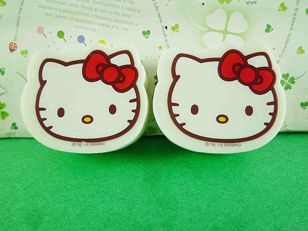 【震撼精品百貨】Hello Kitty 凱蒂貓~橡皮擦組-2入大頭圖案