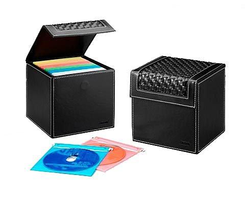 《享亮商城》CDB-9801 皮質80片裝CD珍藏箱 波德徠爾