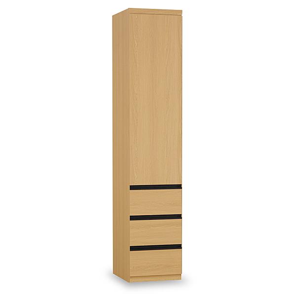 衣櫥【時尚屋】[C7]達拉斯1.3尺三抽衣櫥C7-554-3免運費/免組裝/臥室系列/衣櫥