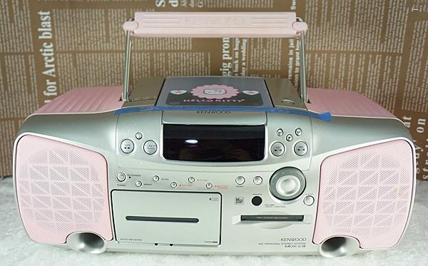 【震撼精品百貨】Hello Kitty 凱蒂貓~CD手提音響【共1款】