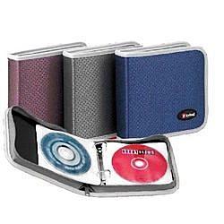 《享亮商城》CD-5924 鑽石紋系列24片CD拉鍊包