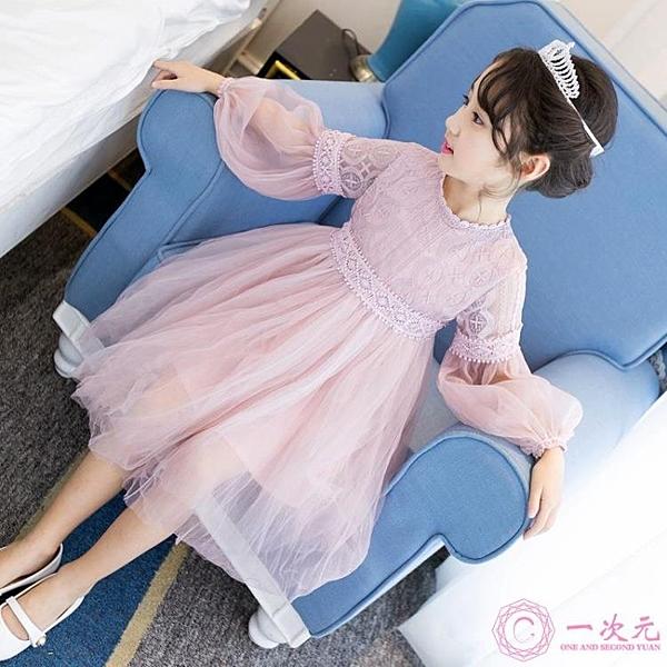 洋裝 女童連身裙2020春裝正韓超洋氣新款兒童裙子公主裙小女孩寶
