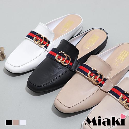 穆勒鞋.MIT 韓風時尚低跟包鞋