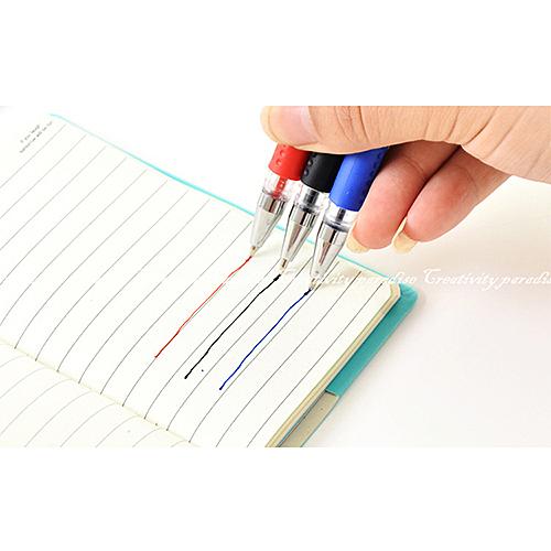 【歐規中性筆】辦公商務0.5mm原子筆 水性圓珠筆 書寫流暢滑順