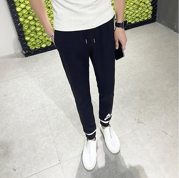 FINDSENSE品牌 新款 品量超好 男生 時尚 運動 休閑褲