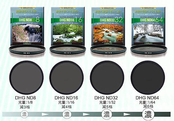 【55mm】 Marumi DHG ND16 ND32 減光鏡 數位多層鍍膜 日本原廠製造 彩宣公司貨 55mm