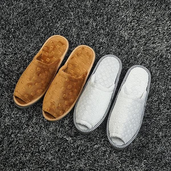 [超豐國際]五星級賓館會所美容院酒店拖鞋非一次性加厚防滑居家